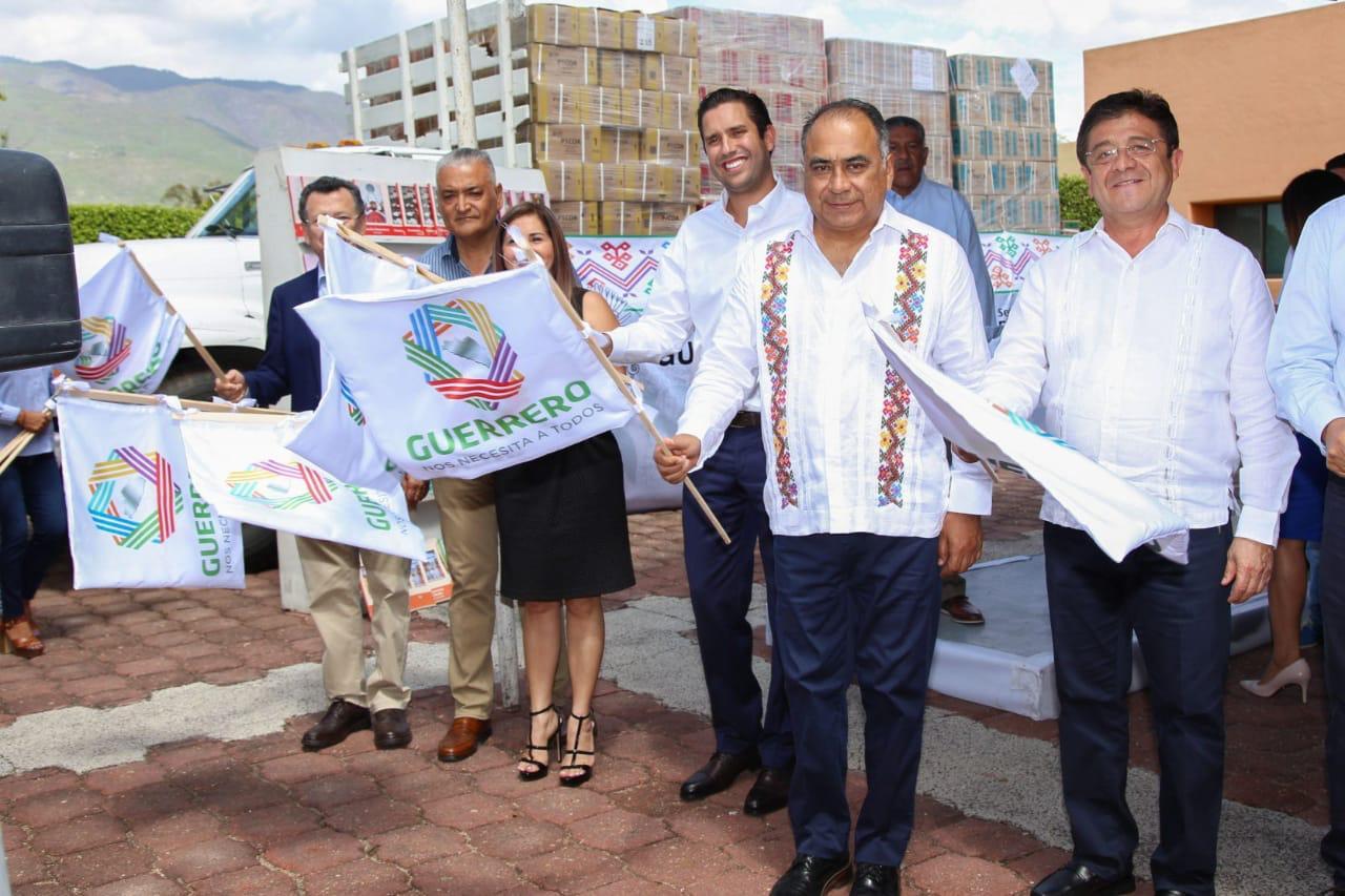 Inicia la distribución de más de 5 millones de libros de texto gratuito en Guerrero