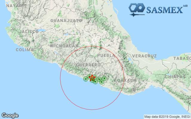 Otro sismo en Guerrero, ahora de 4.3