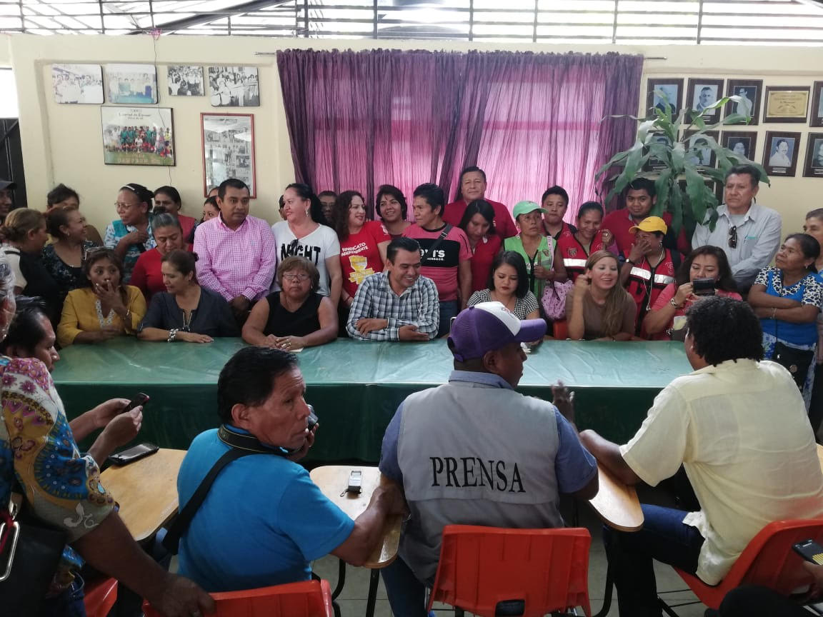 Trabajadores  del ayuntamiento de Chilpancingo, anuncian paró de 48 horas