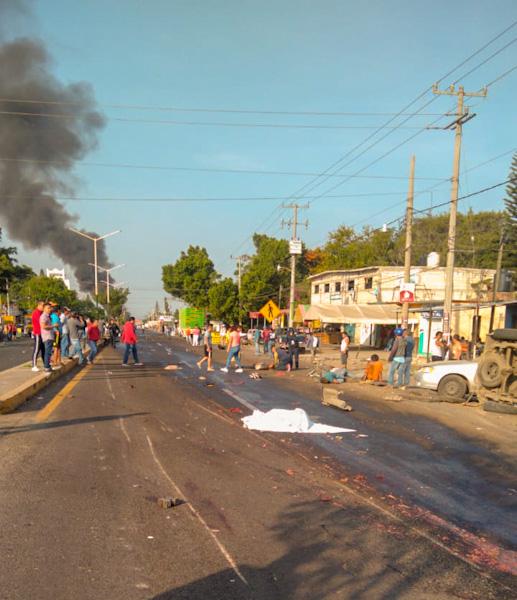 5 muertos y 18 heridos deja tráiler en Cuautla