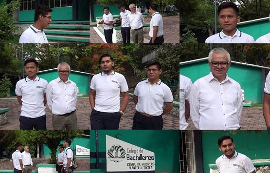 Alumnos de Colegio de Bachilleres plantel 11 de Tixtla, participaran en demostración de tecnología en Emiratos Árabes Unidos