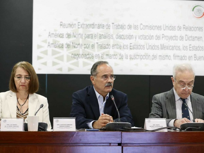 Prevé el Senado avalar T-MEC para dar estabilidad a México