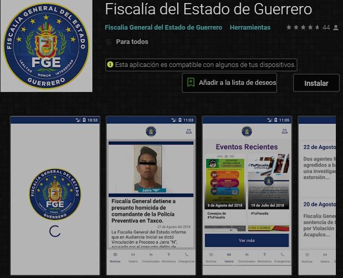 La Fiscalía General del Estado (FGE), da seguimiento al desempeño de las y funcionarios públicos A través de la APP