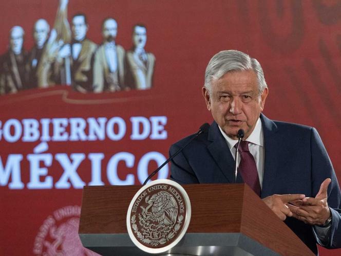 Ni modo que me callen: López Obrador sobre Santa Lucía