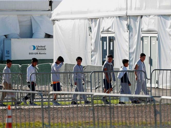 Trump deja sin abogados ni recreo a niños migrantes en refugios