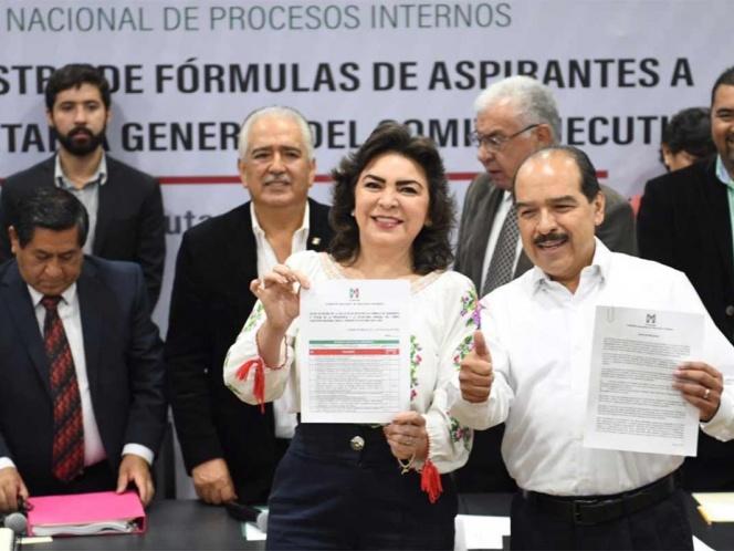 Se lleva a cabo registro de aspirantes a dirigencia nacional del PRI