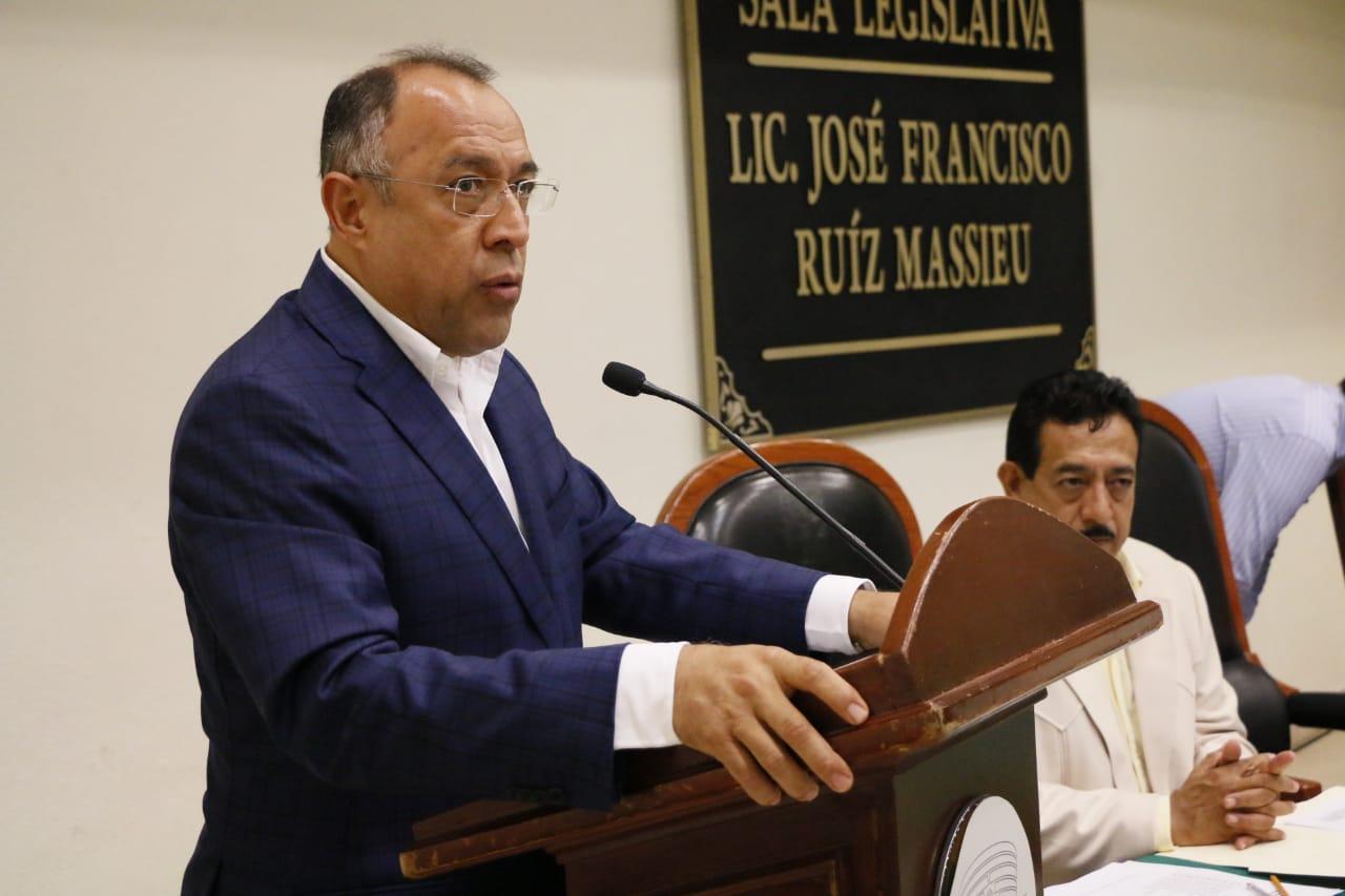 Heriberto Huicochea Vázquez propuso reformas a la Ley del Sistema de Seguridad Pública del Estado