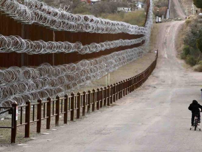 EU pintará el muro fronterizo para mejorar su apariencia