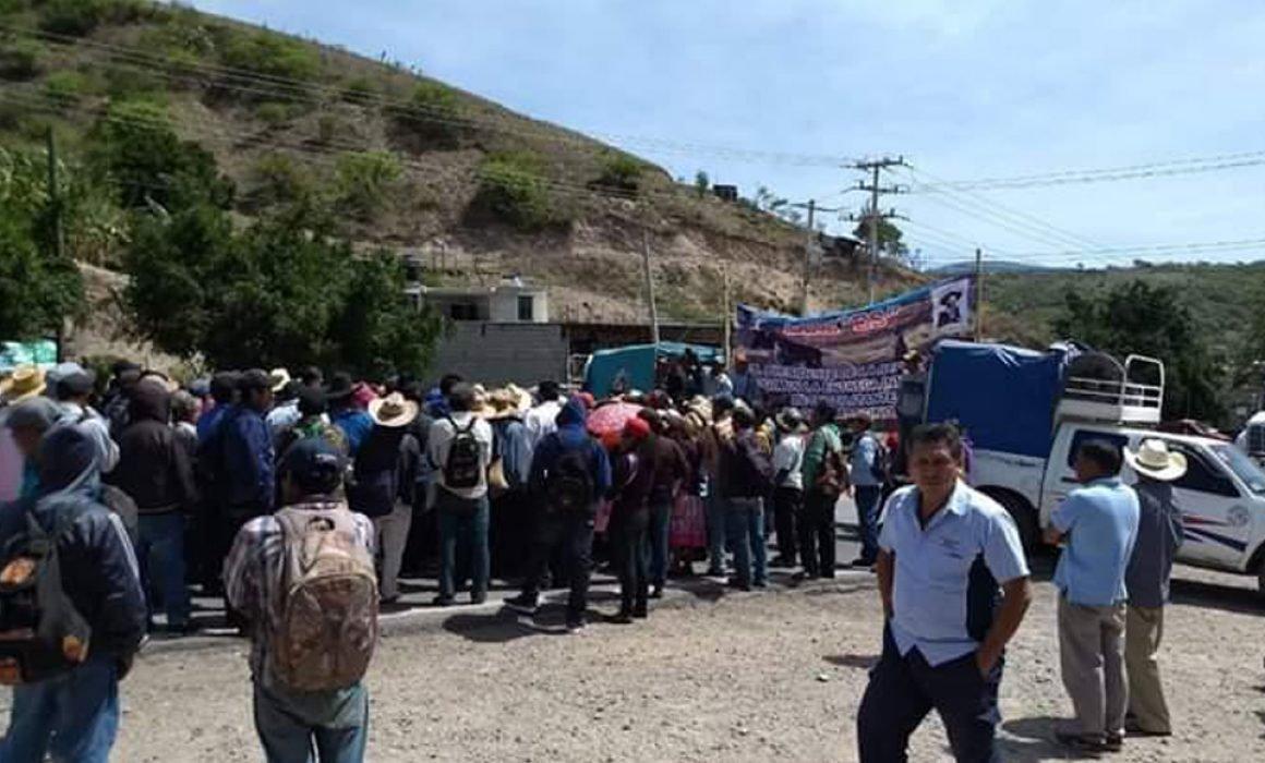 Retiran después de 3 horas el bloqueo carretero en Chilapa