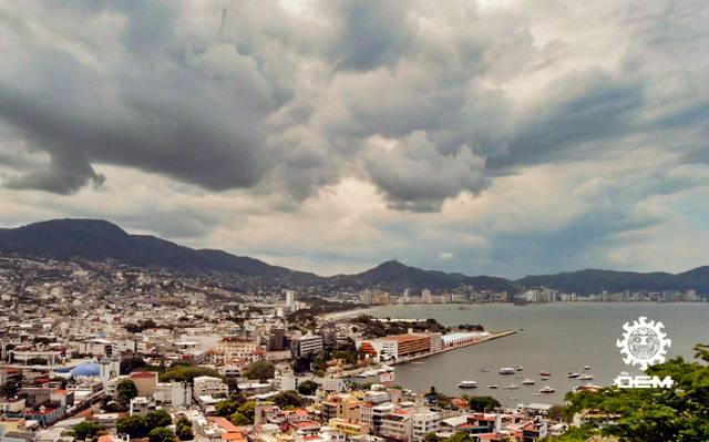 Lluvias en Acapulco dejaron afectaciones menores, informa PC