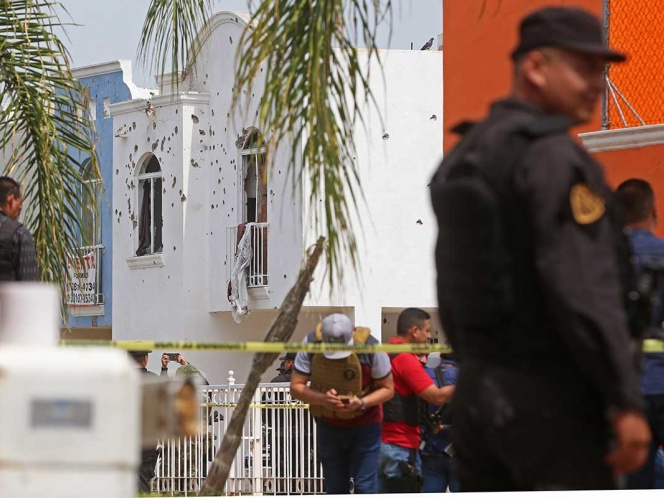 Grupo criminal tenía granadas para usar en enfrentamiento: Fiscalía de Jalisco