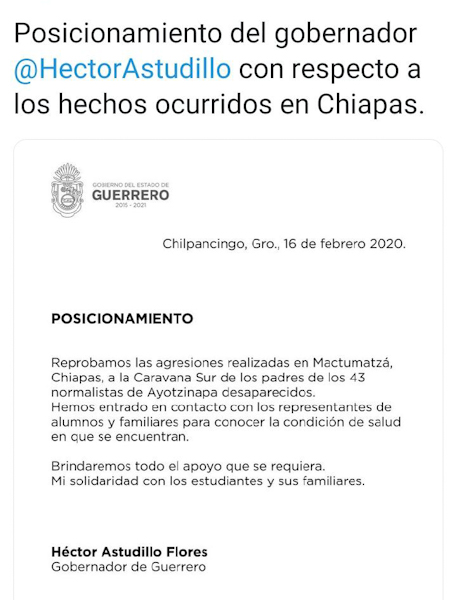 Policías de Chiapas agreden a padres de los #43; heridos de gravedad