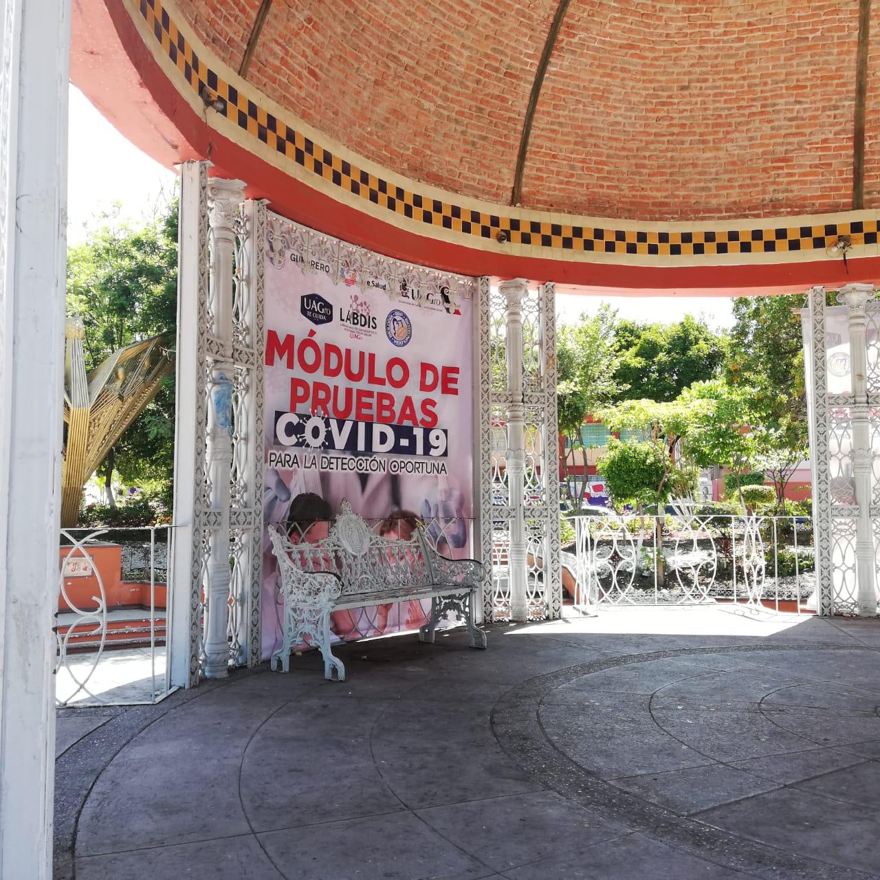 Quitan módulos de detección Covid en Chilpancingo; mujer ruega que los reinstalen