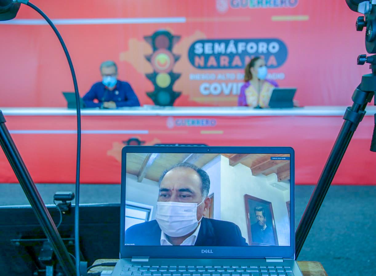 Gobierno de Guerrero trabaja para frenar pandemia