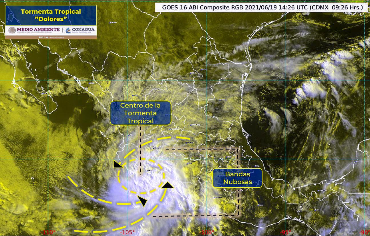 (Video) Aún habrá fuertes lluvias en Acapulco por la Tormenta Dolores