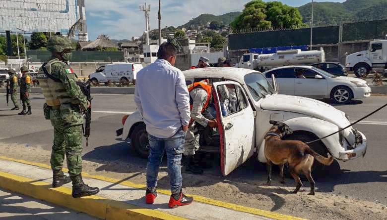 Promueve el Ejército Mexicano la denuncia ciudadana en Acapulco