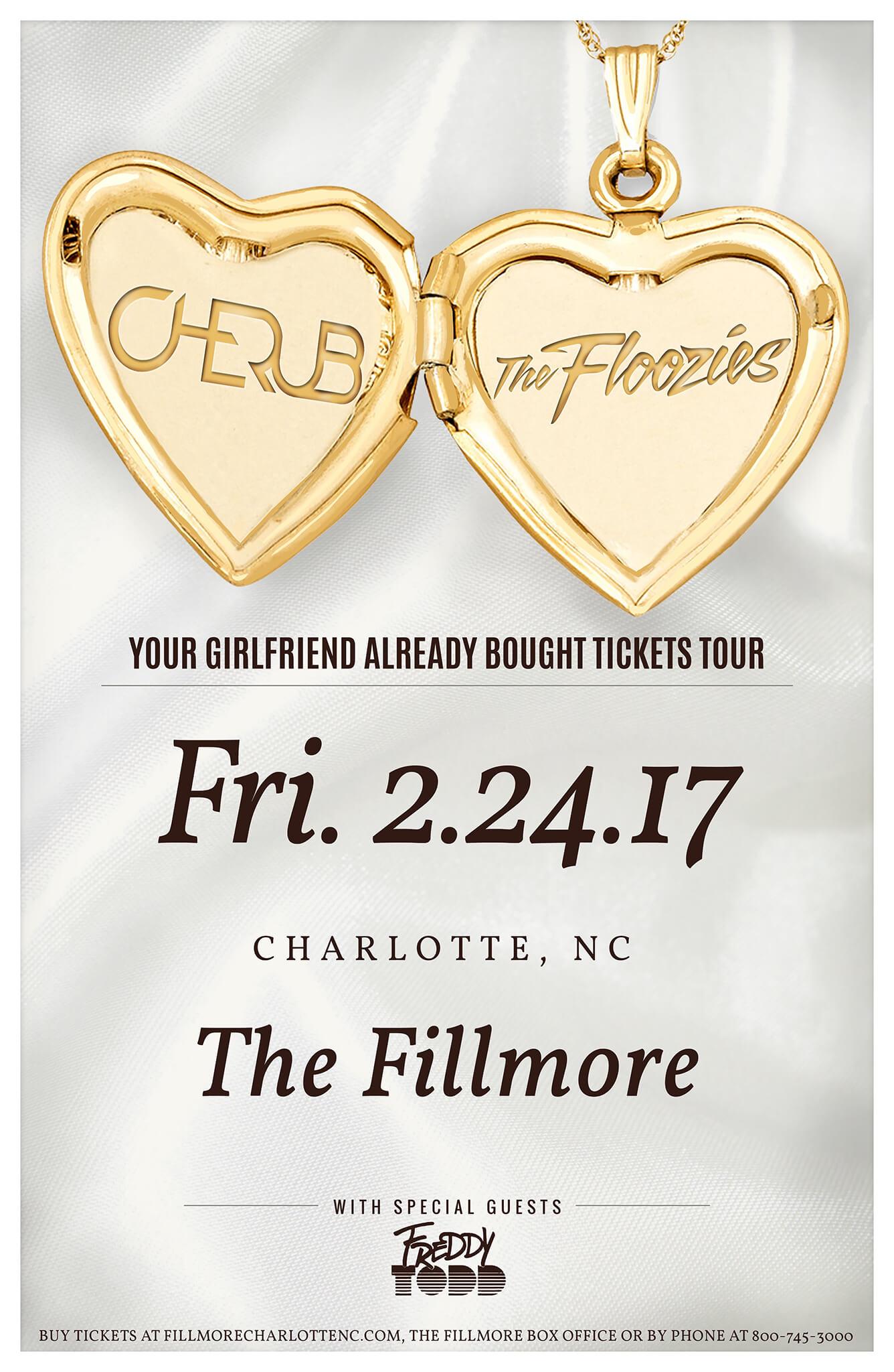 Cherub, The Floozies, Freddy Todd in Charlotte