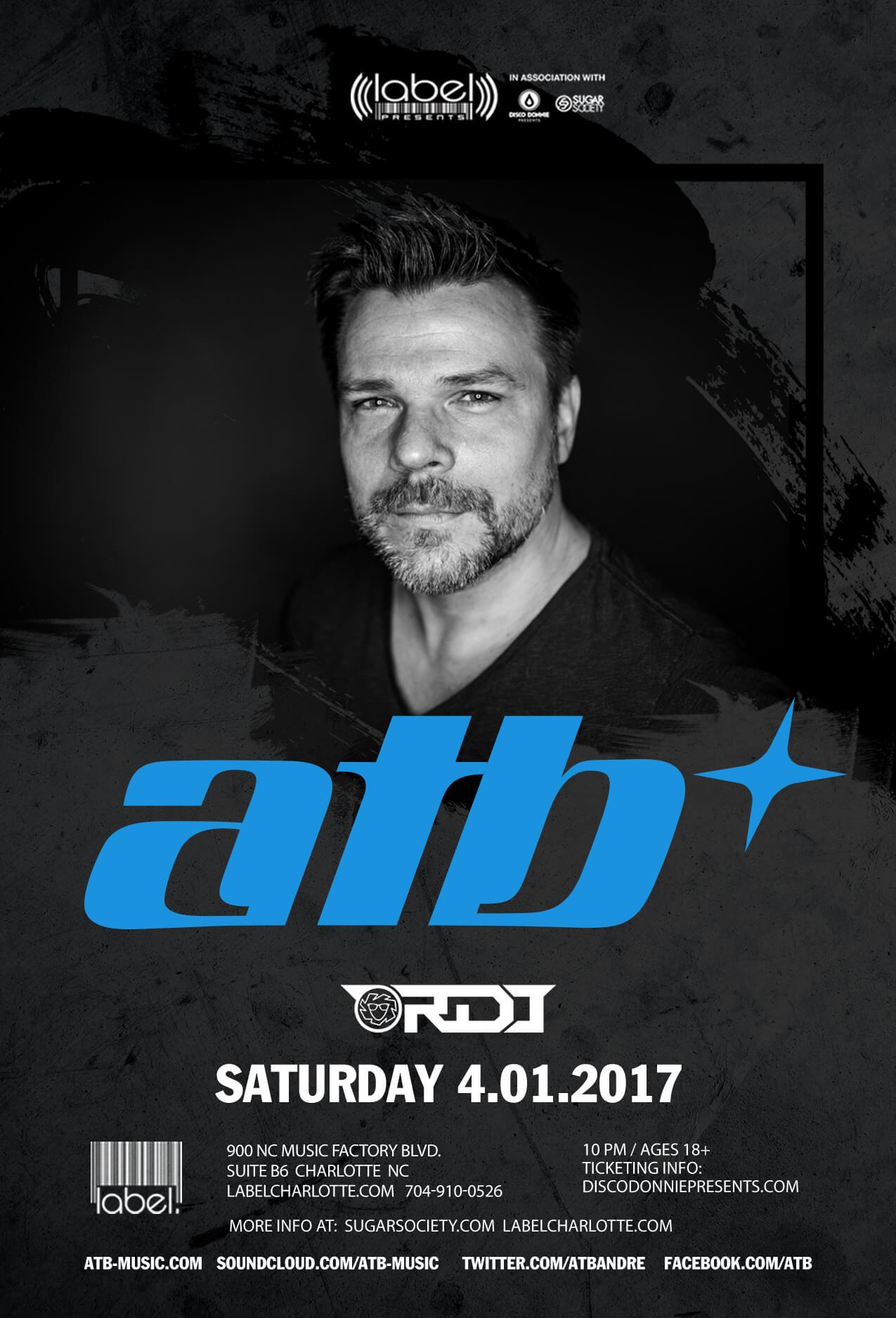 ATB, RDJ in Charlotte