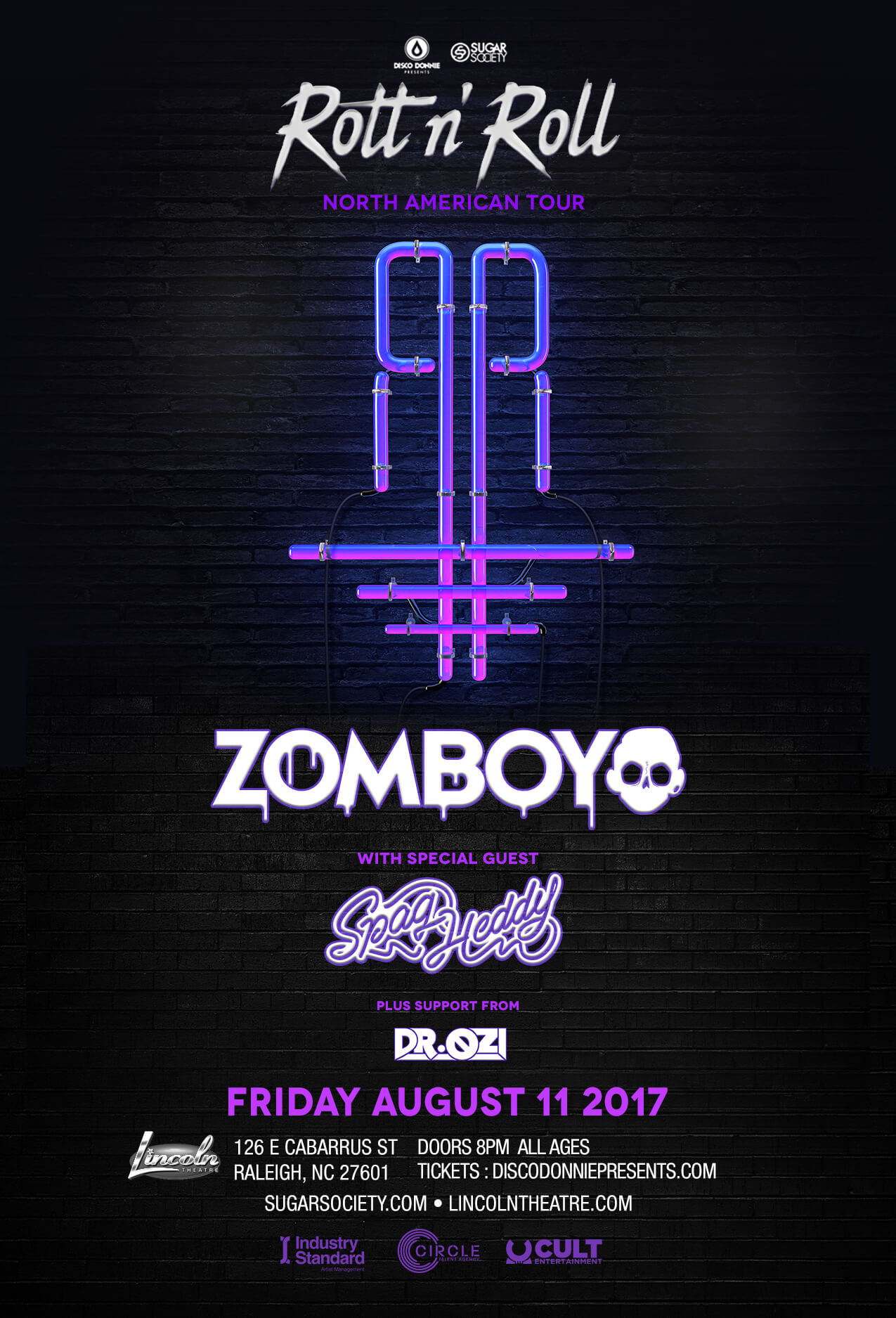 Zomboy in Raleigh