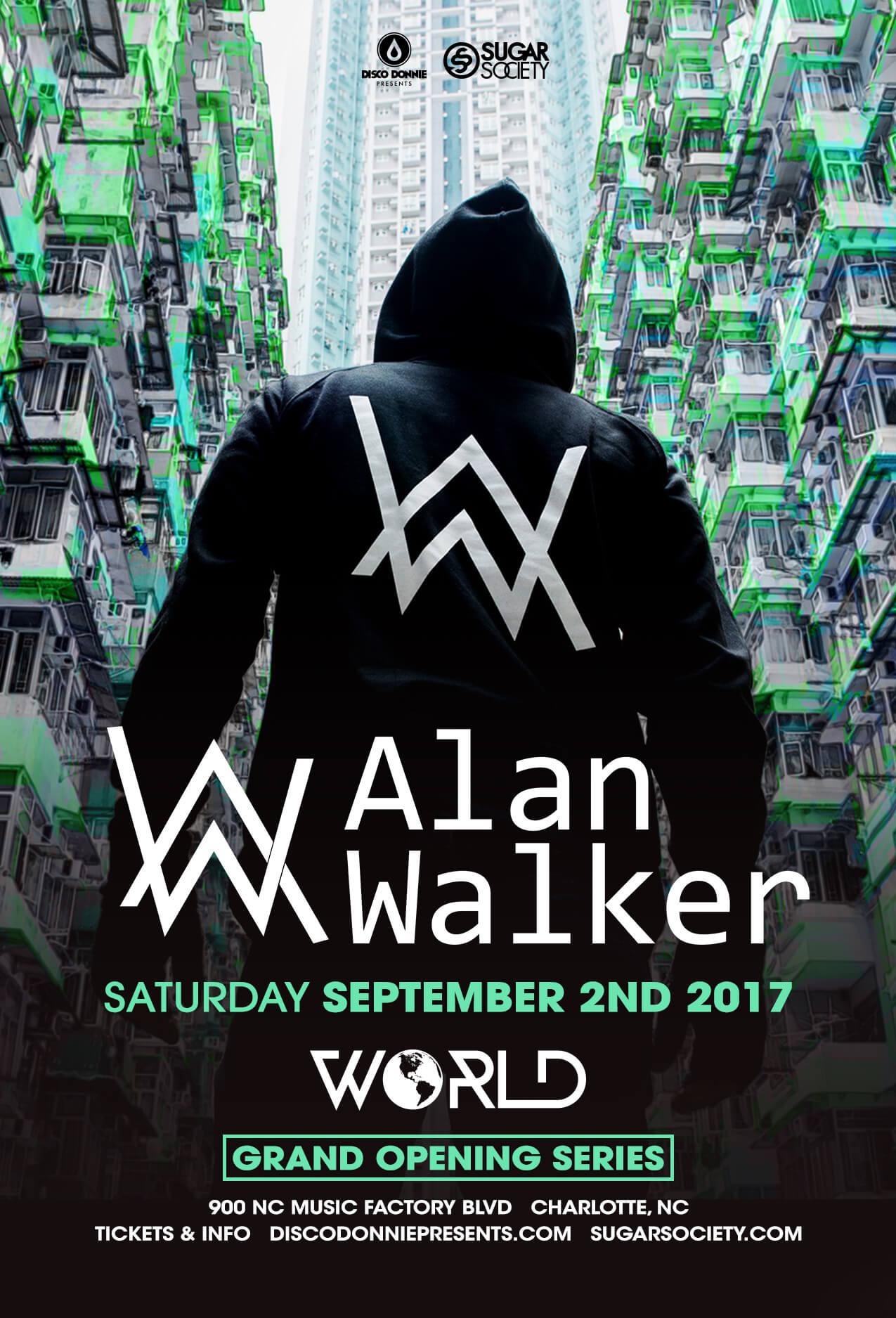Alan Walker in Charlotte