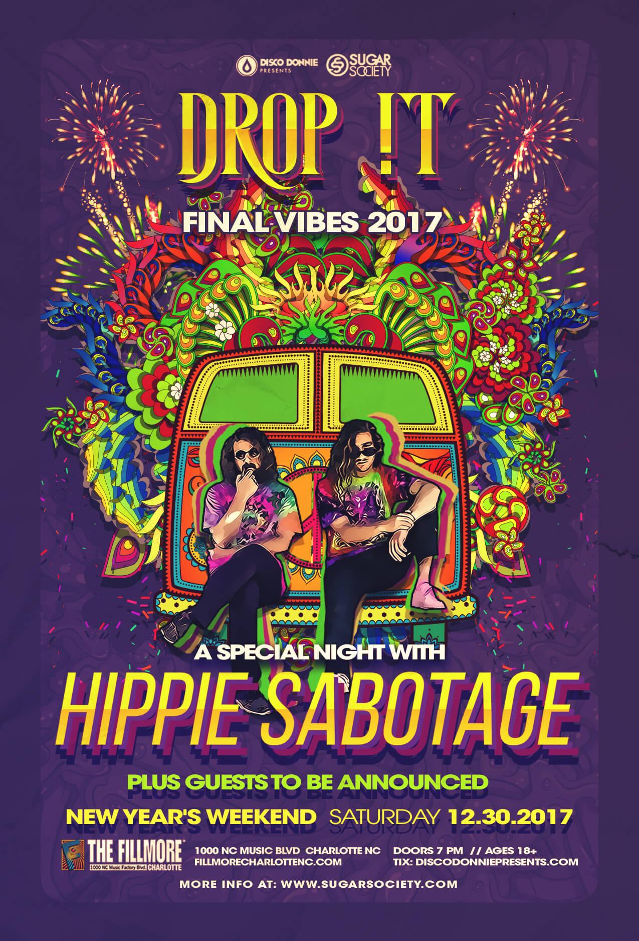 Hippie Sabotage in Charlotte