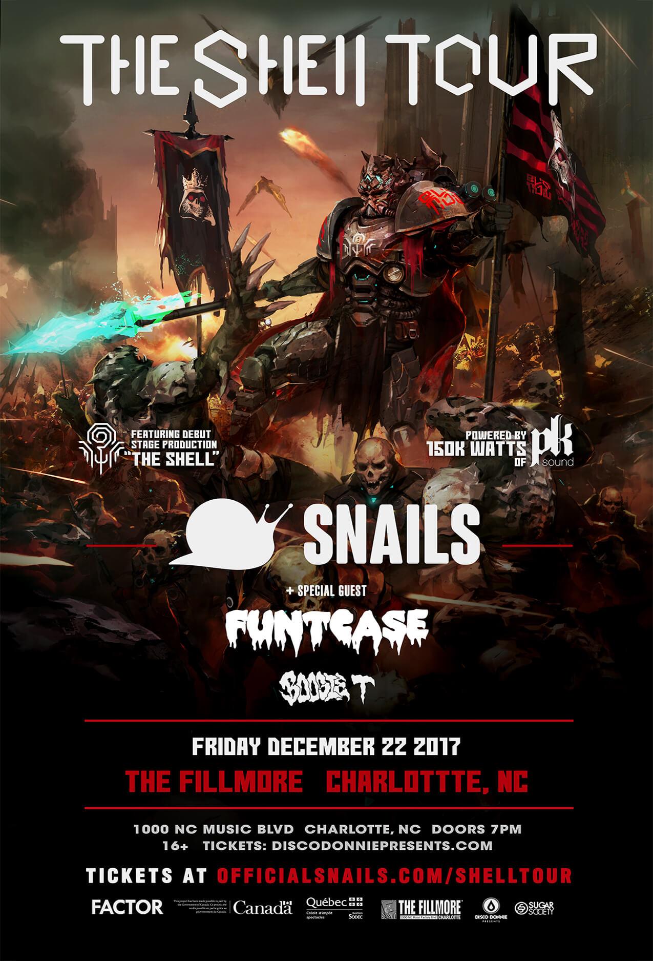 Snails in Charlotte