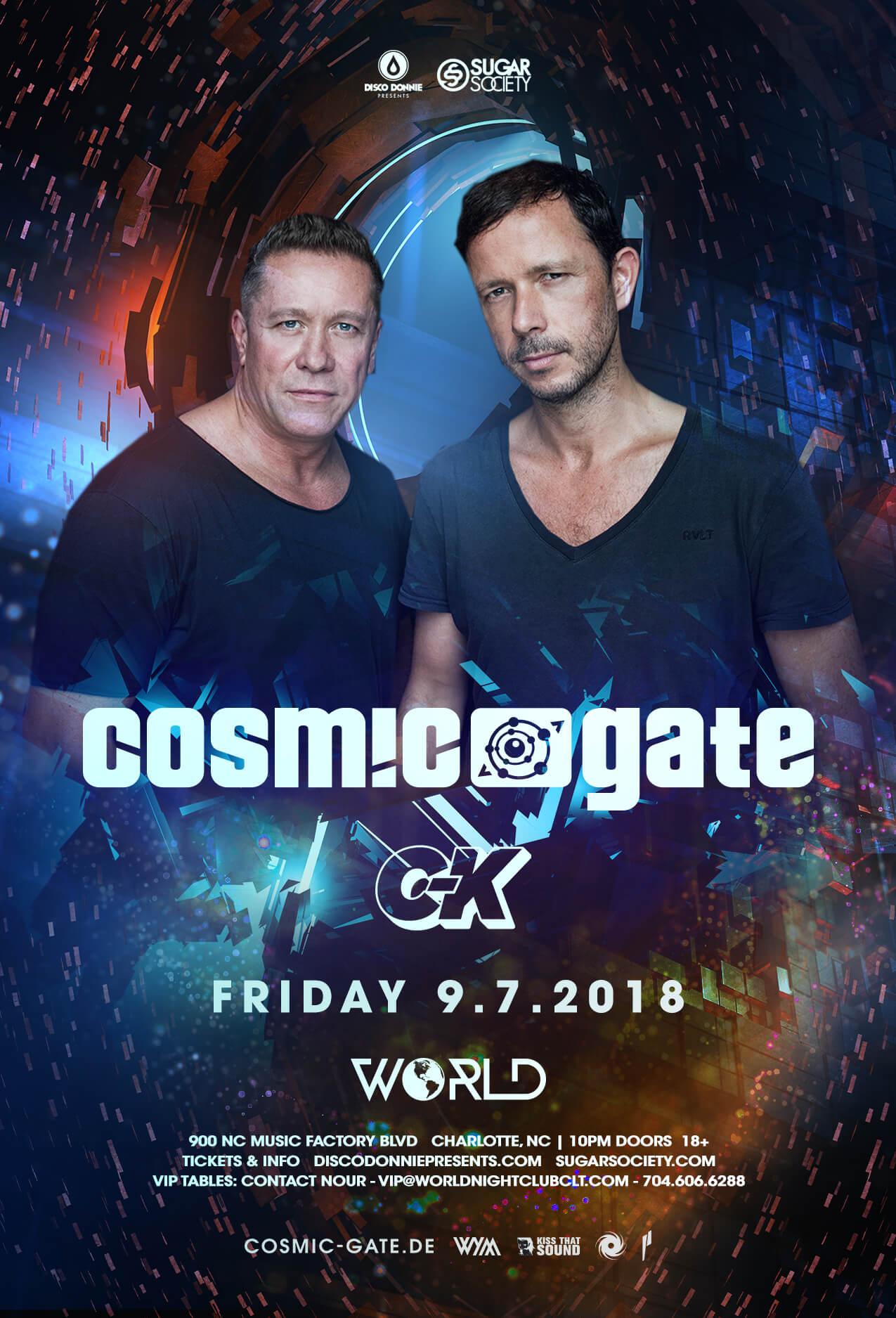 Cosmic Gate in Charlotte