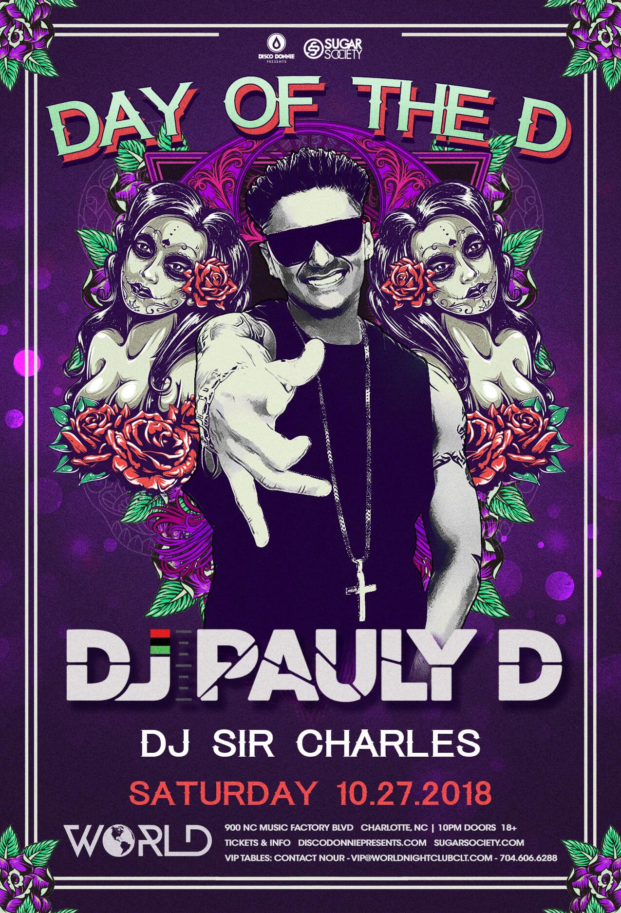 DJ Pauly D in Charlotte