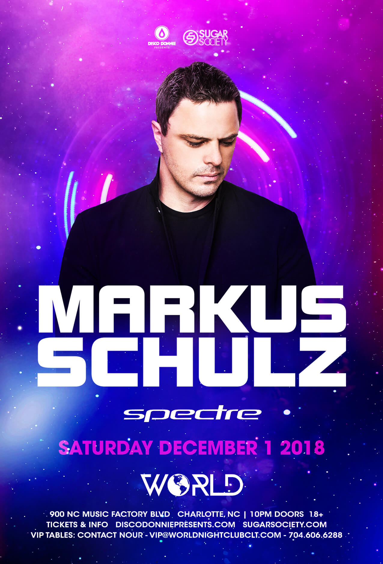 Markus Schulz in Charlotte