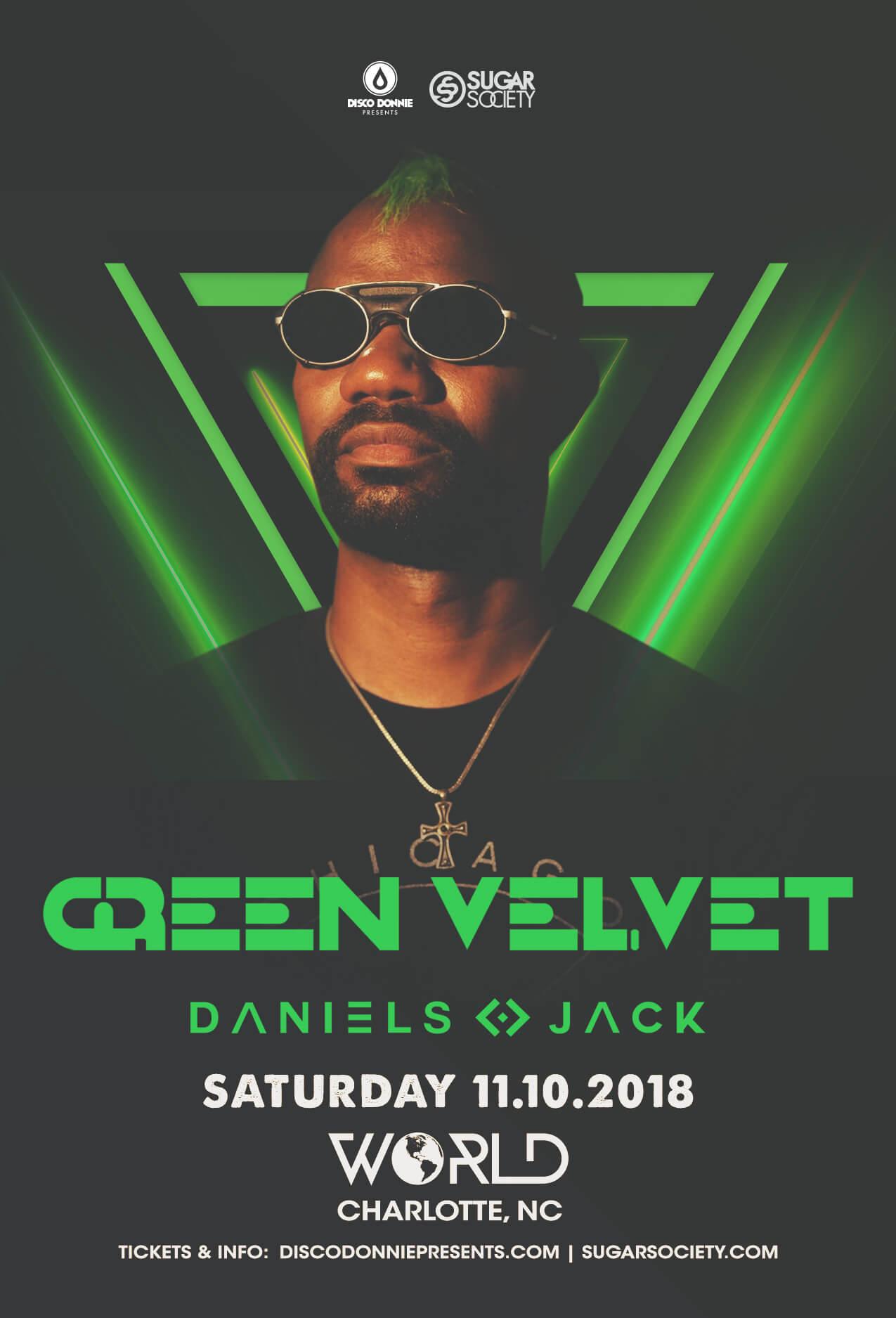 Green Velvet in Charlotte