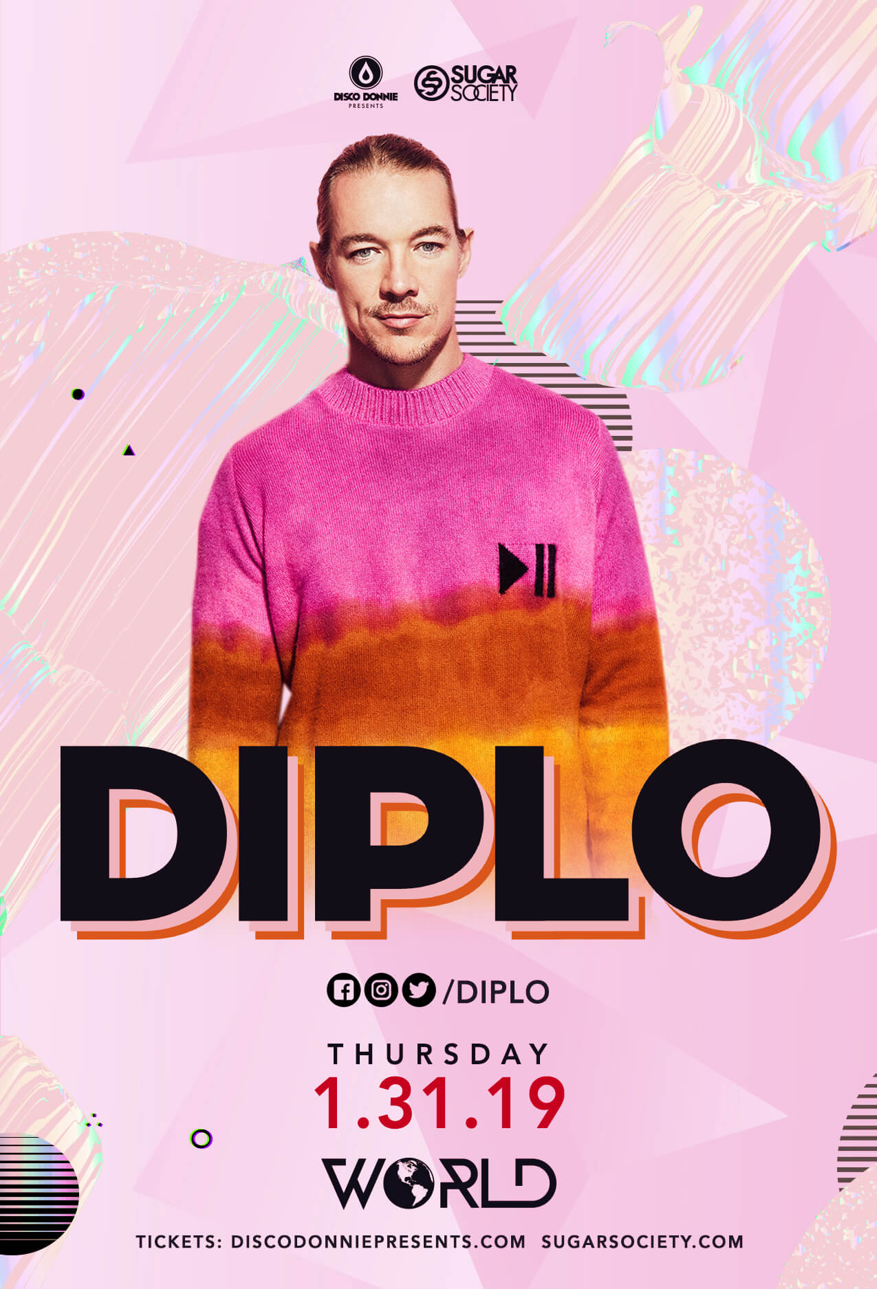 Diplo in Charlotte