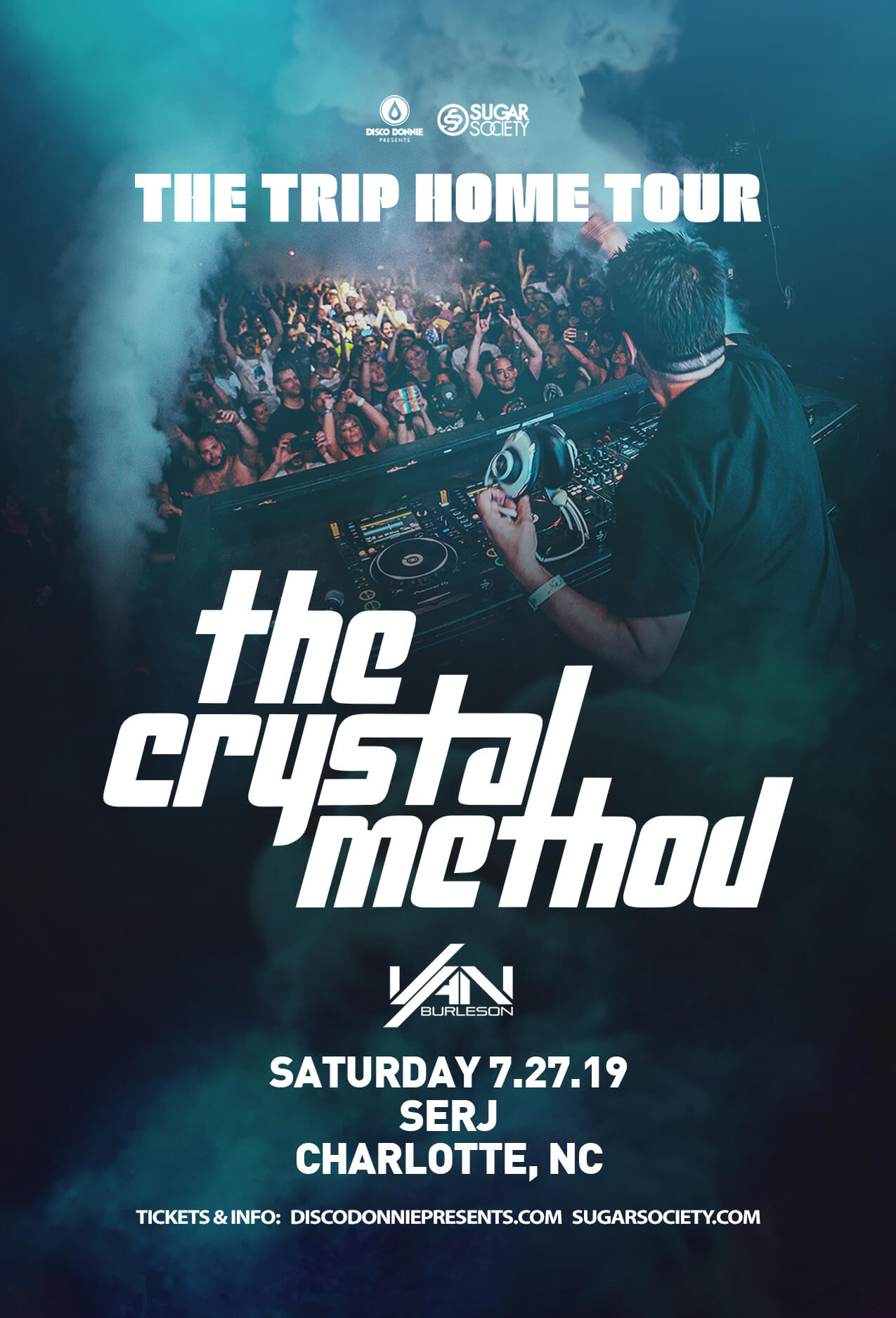 The Crystal Method in Charlotte