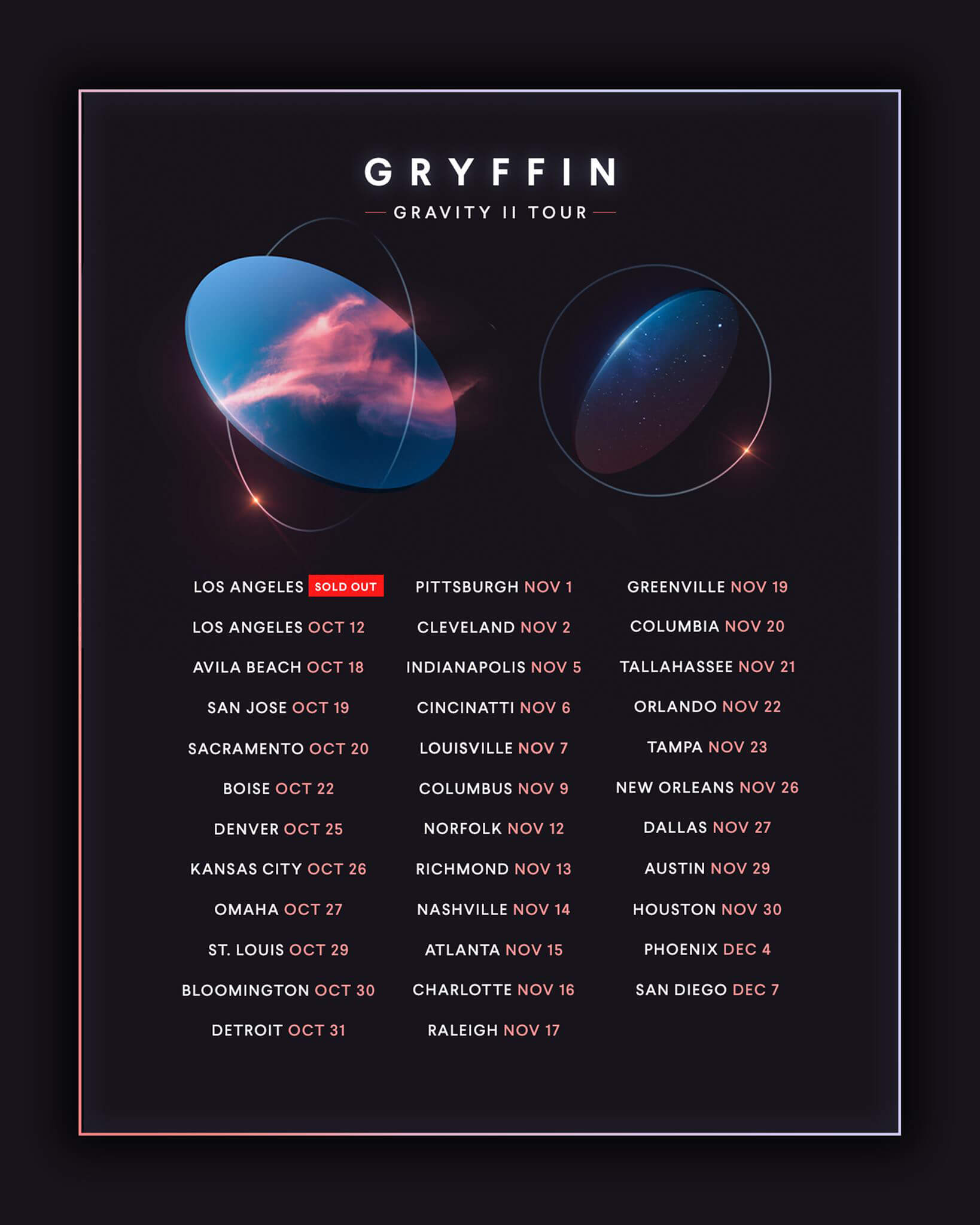 Gryffin in Raleigh
