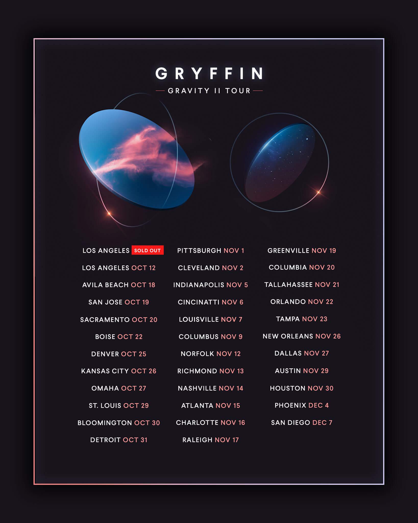 Gryffin in Charlotte