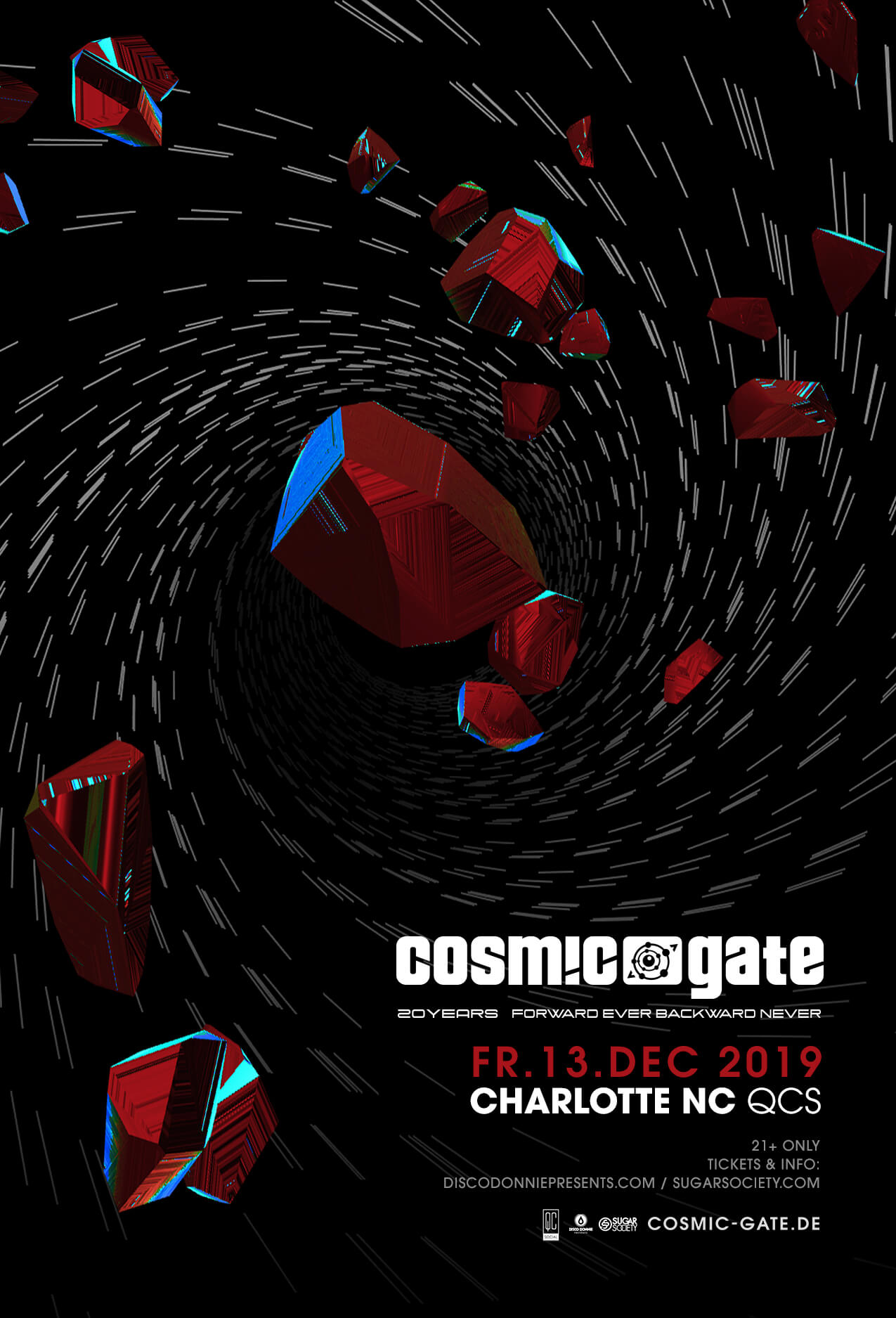 Cosmic Gate in Charlotte