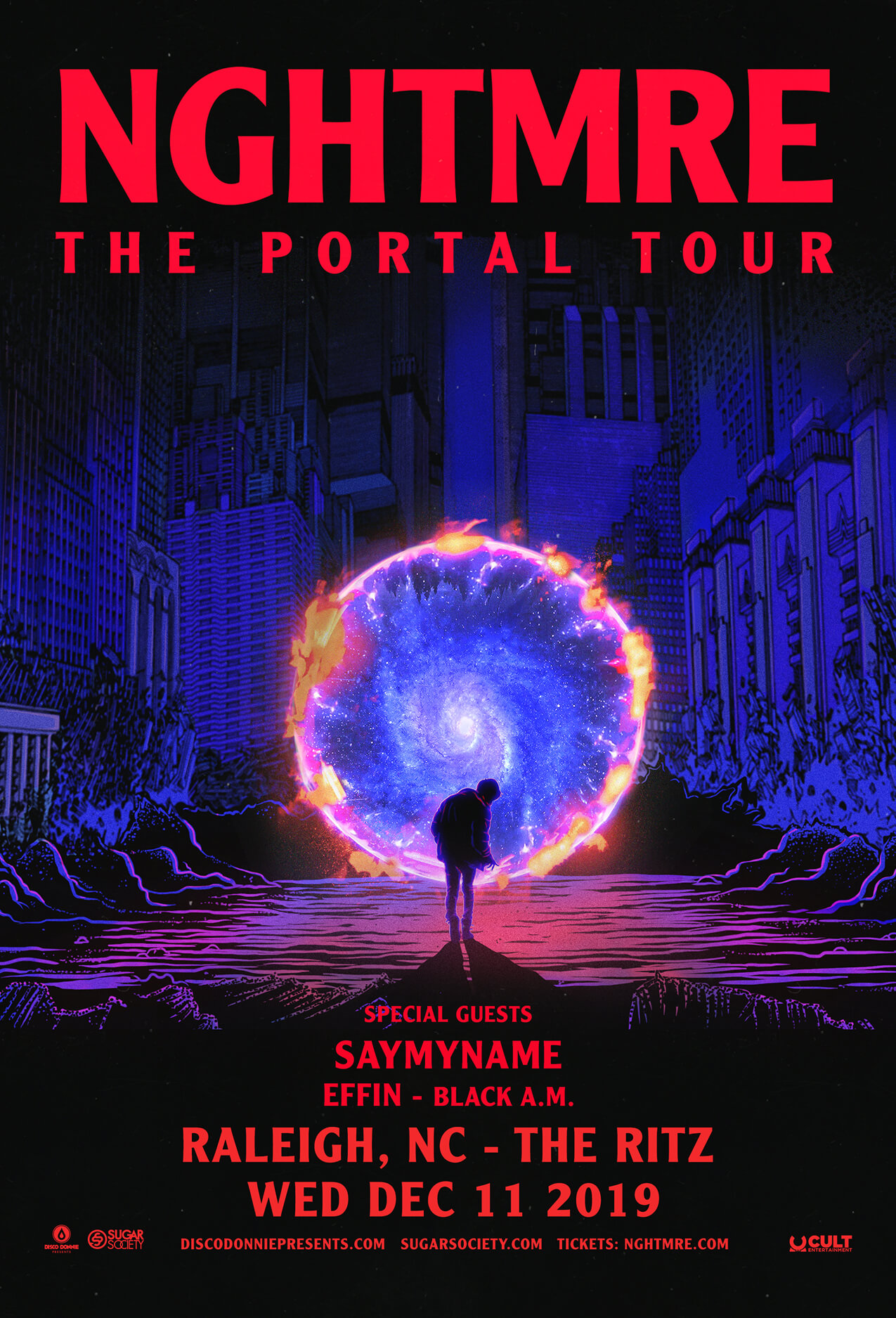 NGHTMRE, Say My Name in Raleigh