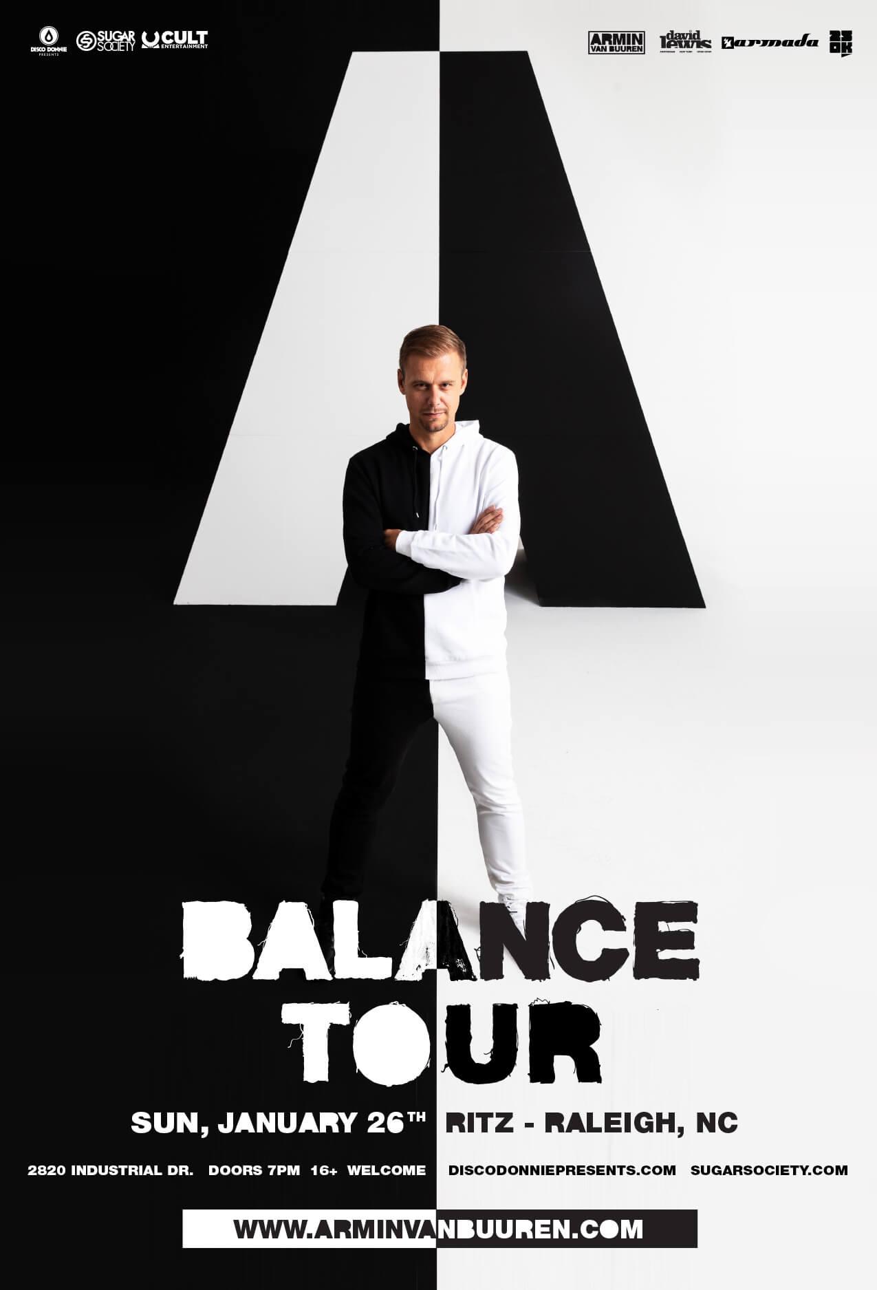Armin van Buuren in Raleigh