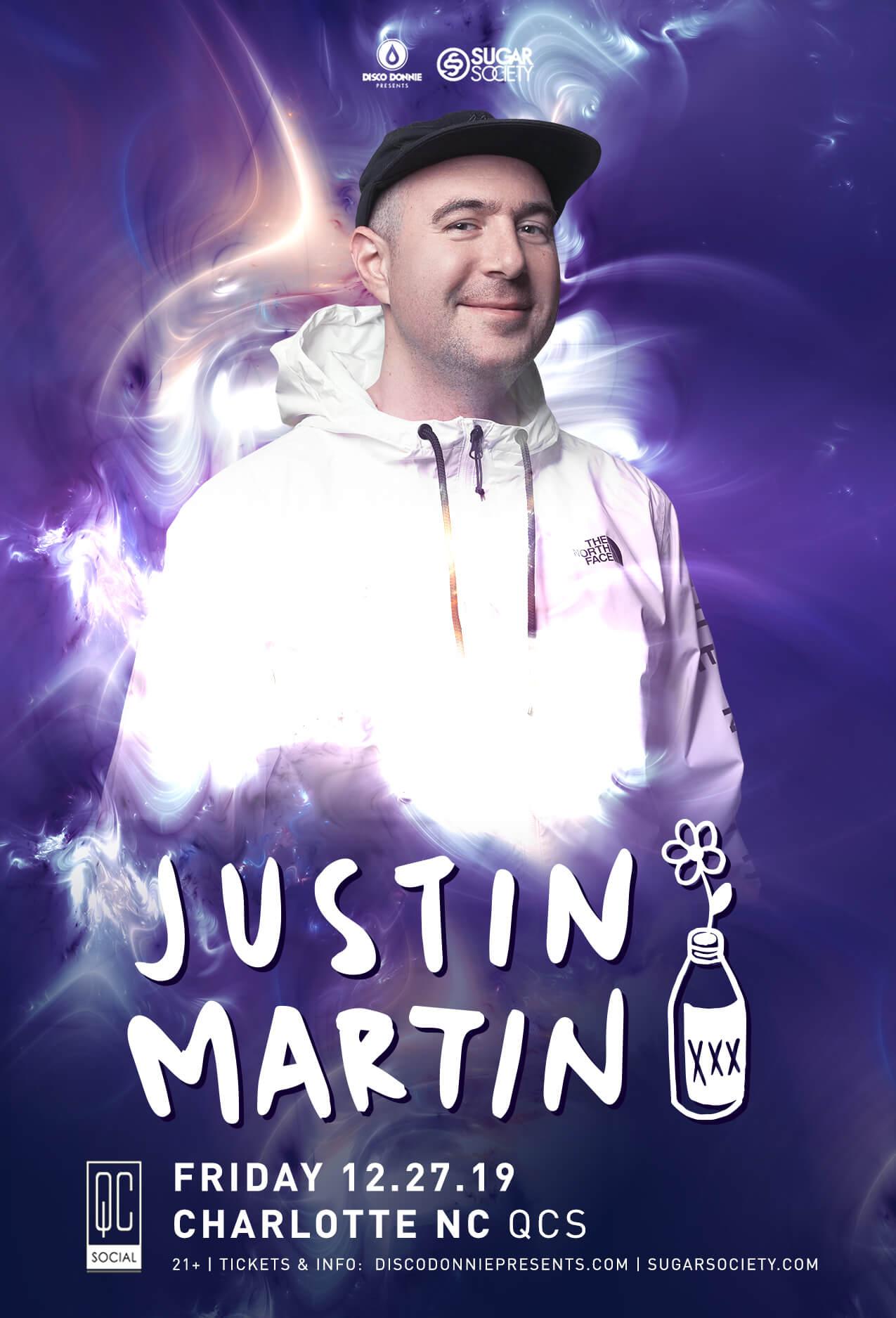 Justin Martin in Charlotte