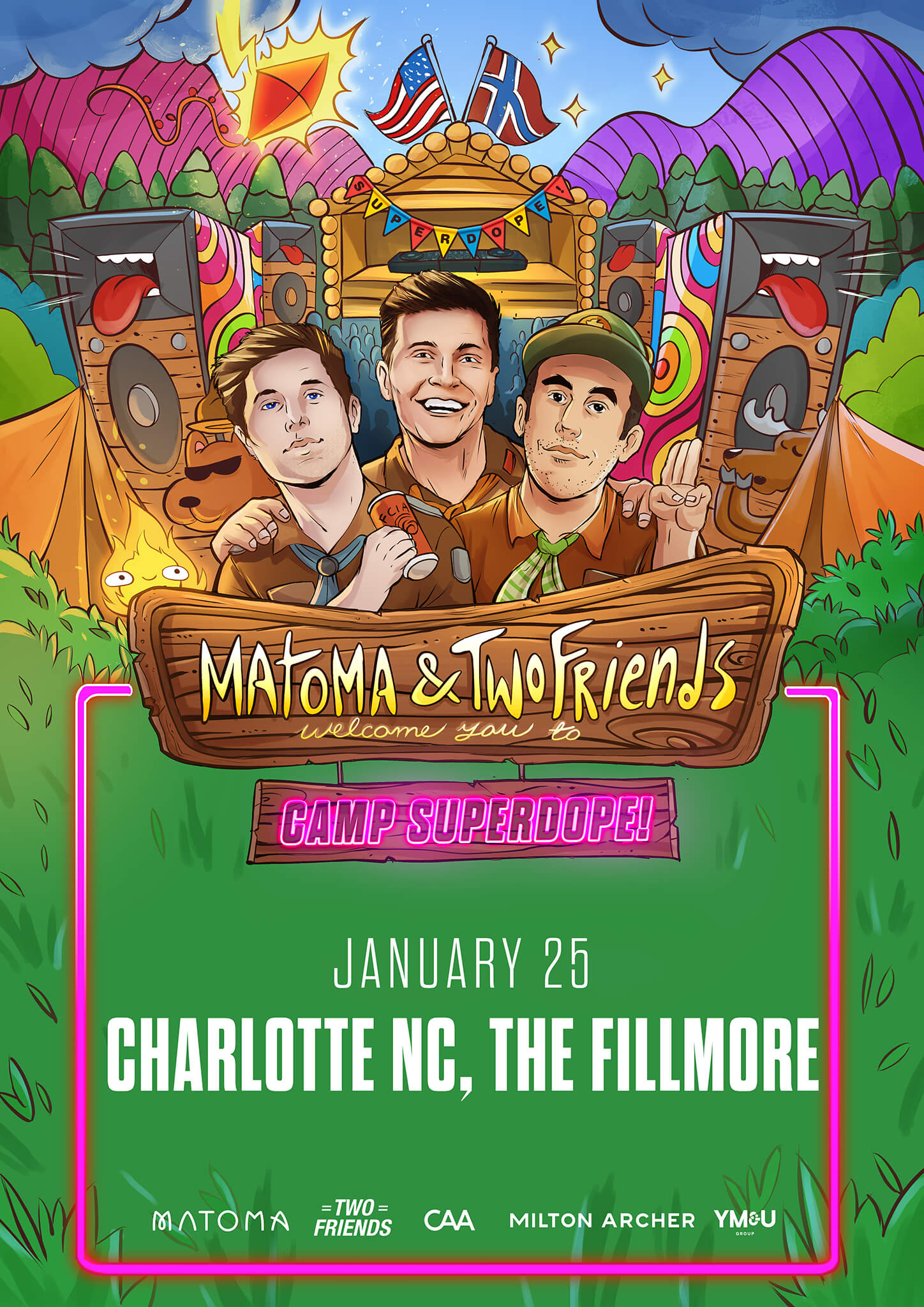 Matoma, Two Friends in Charlotte