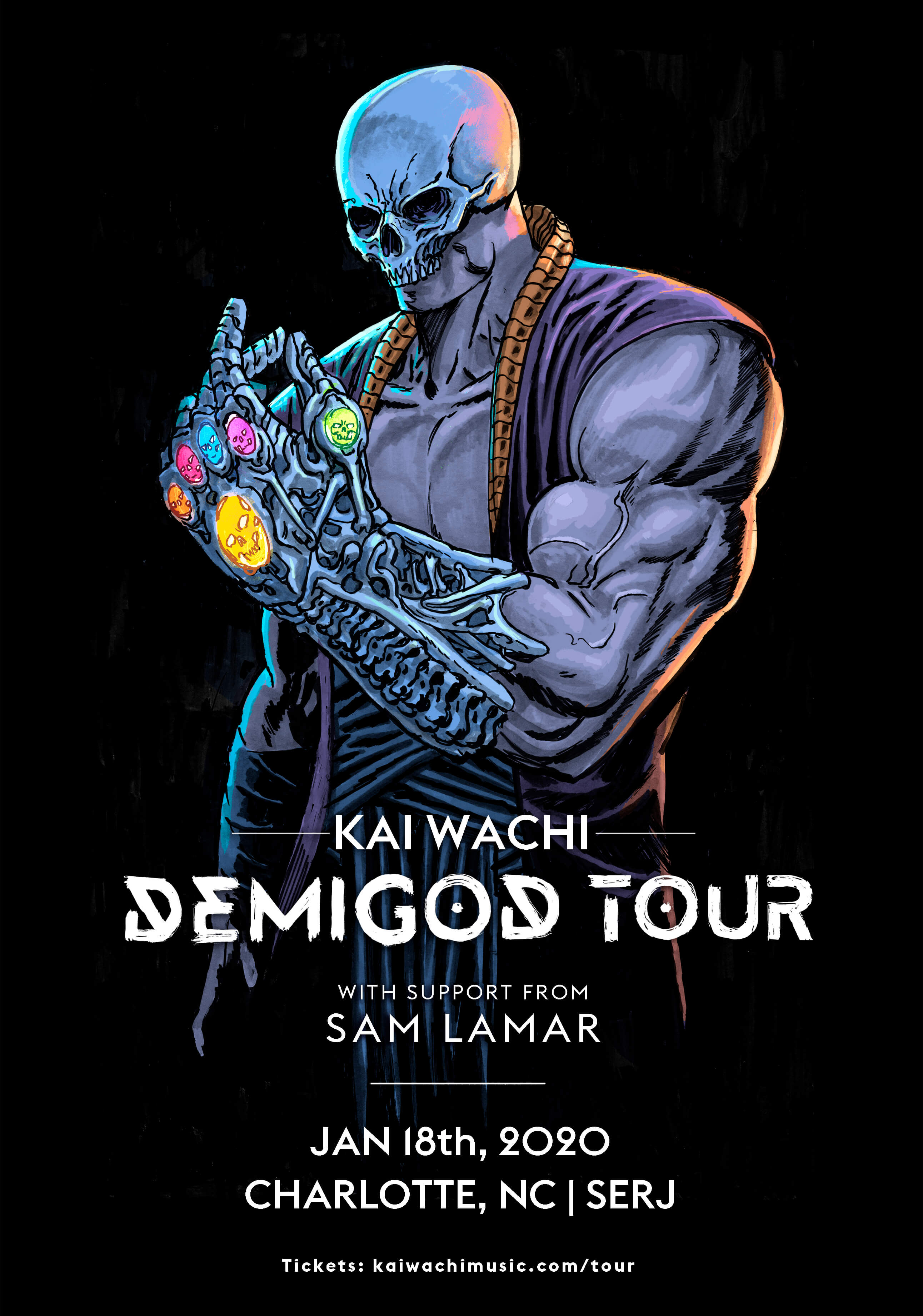 Kai Wachi, Sam Lamar in Charlotte