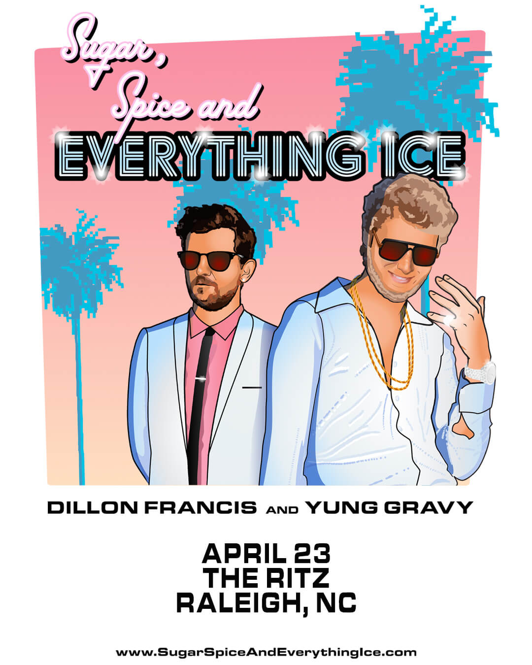 Dillon Francis, Yung Gravy in Raleigh