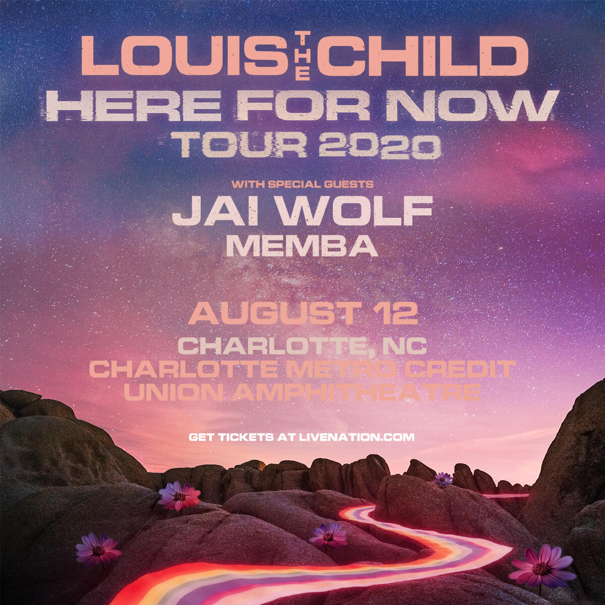 Louis The Child, Jai Wolf, EVAN GIIA in Charlotte