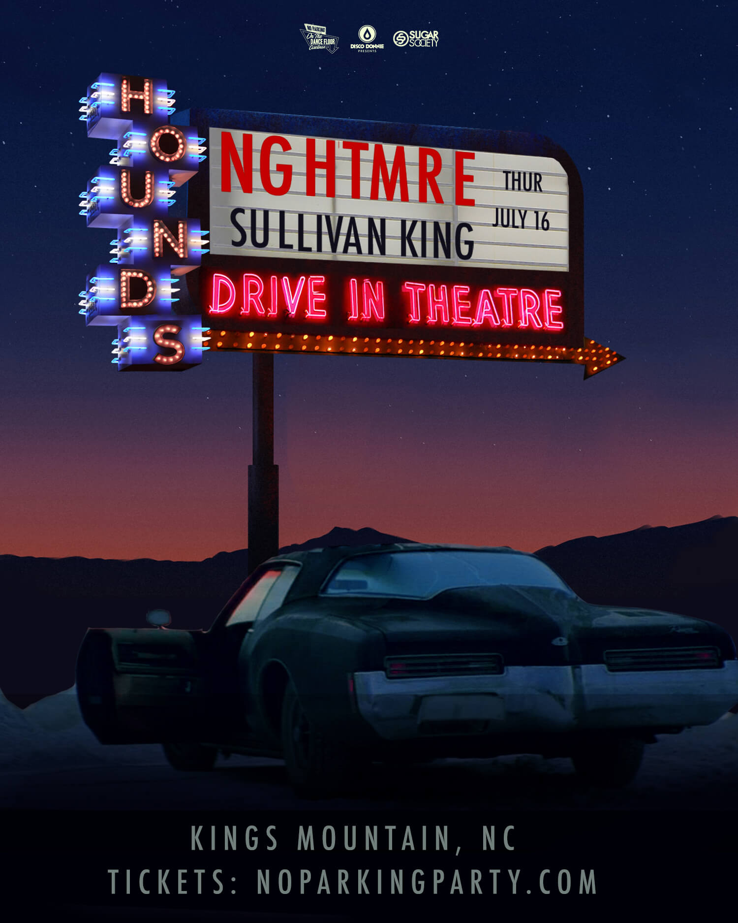 Nghtmre, Sullivan King  in Kings Mountain