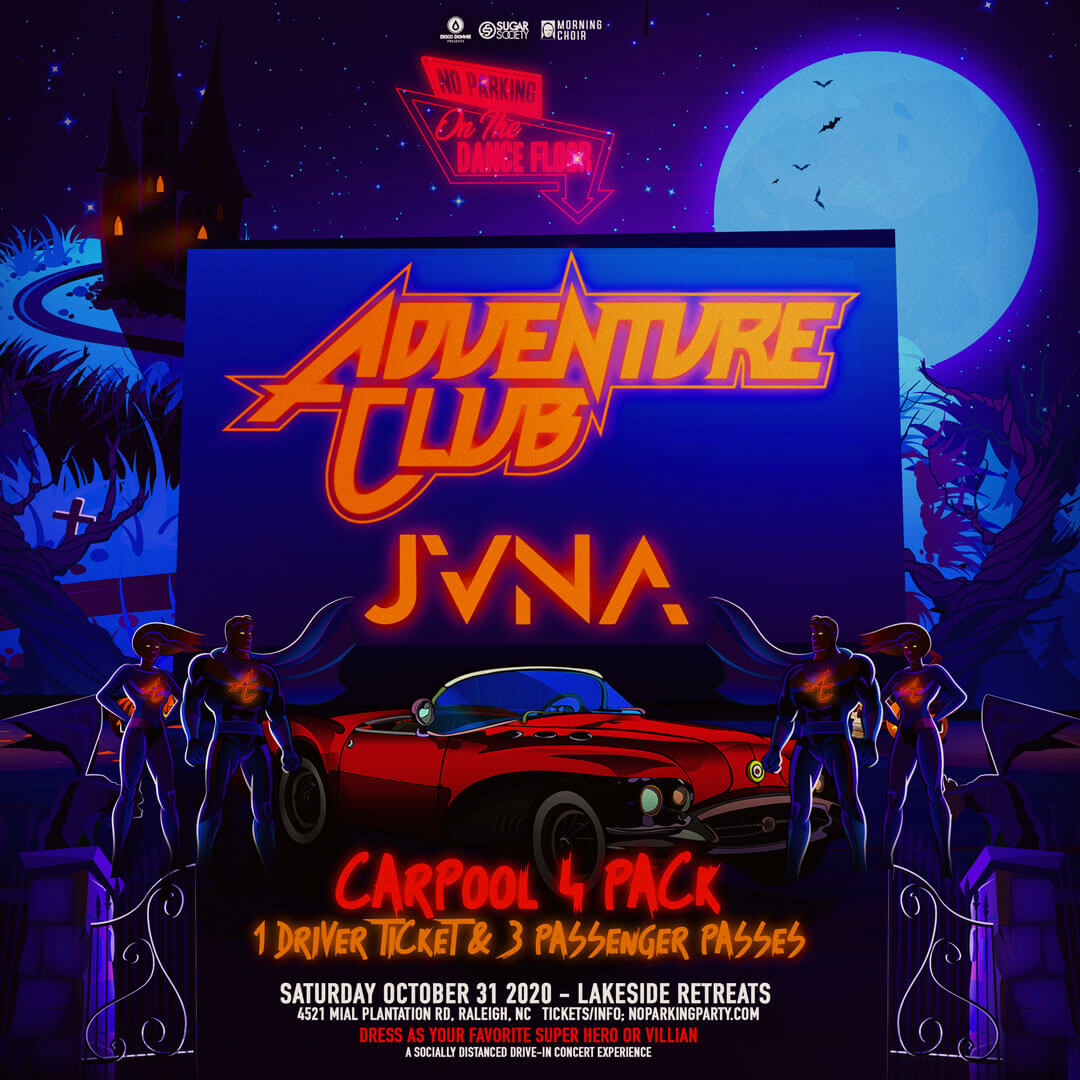 Adventure Club, JVNA in Raleigh