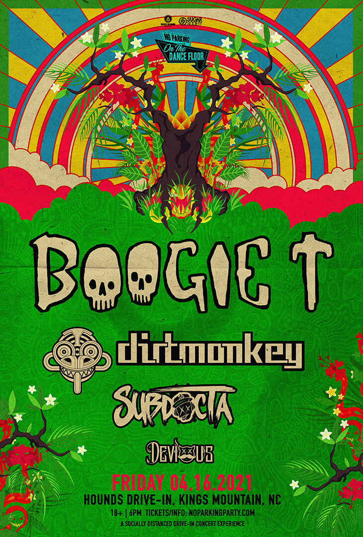 Boogie T, Dirt Monkey, SubDocta, Devious in Kings Mountain