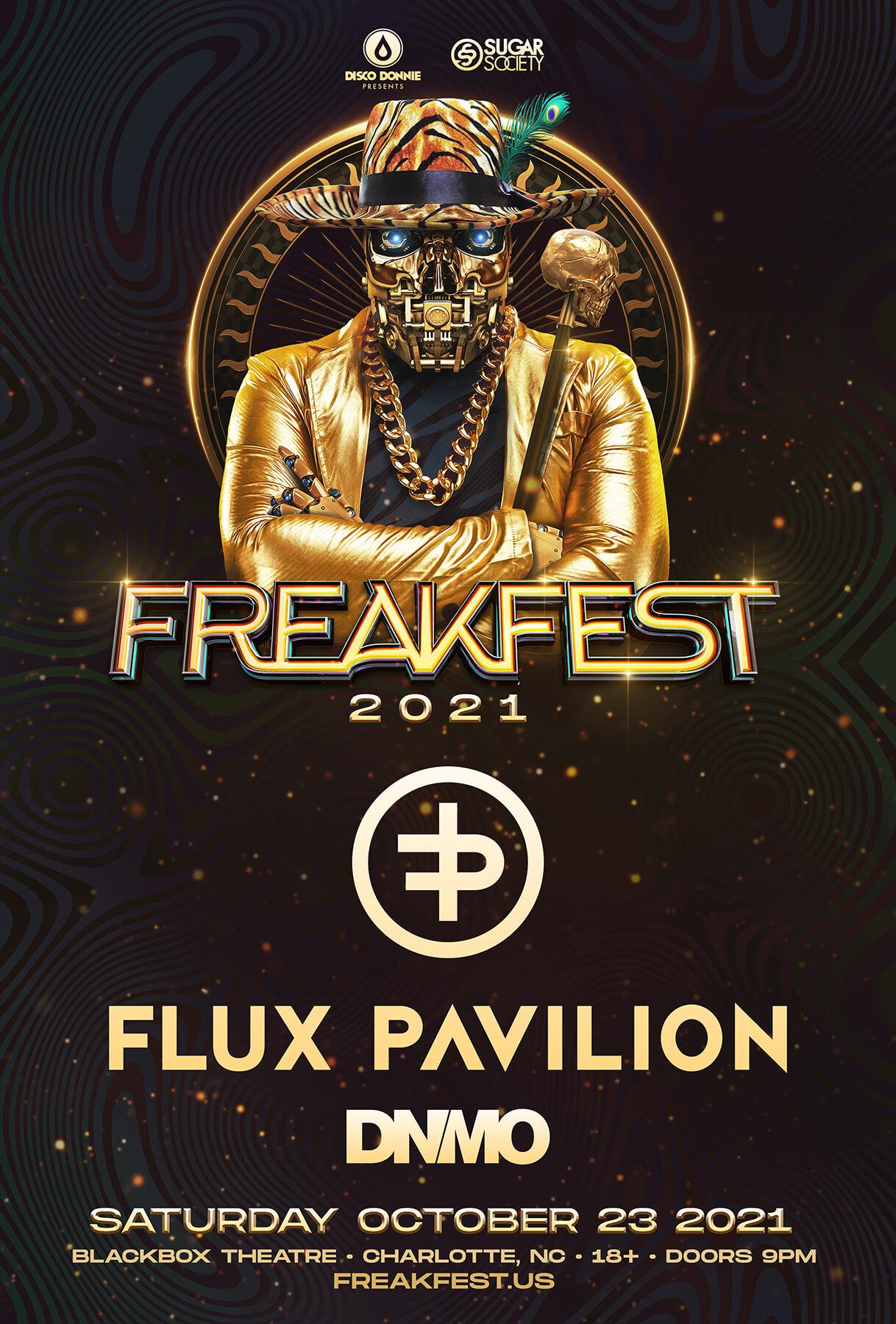 Flux Pavilion, DNMO in Charlotte