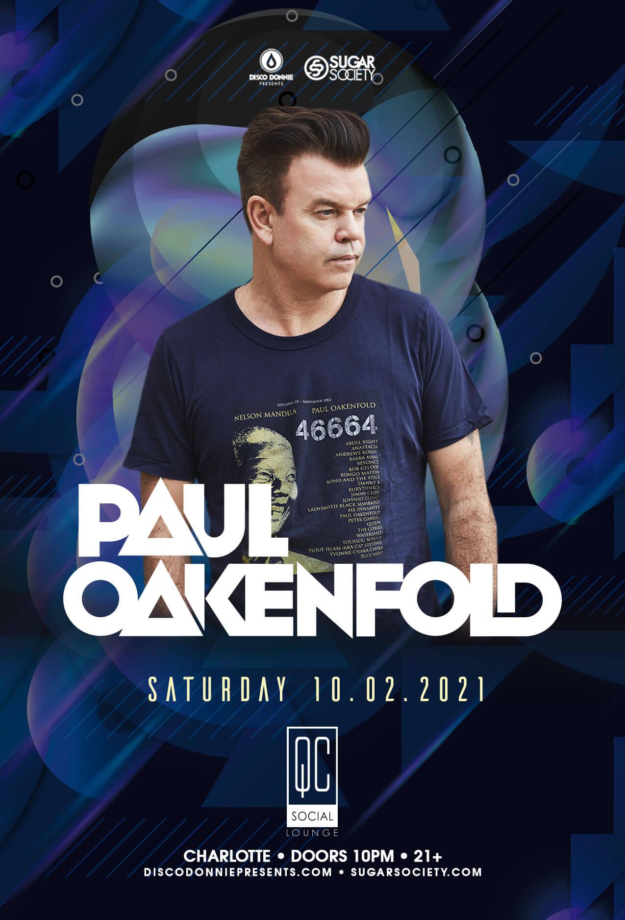 Paul Oakenfold in Charlotte
