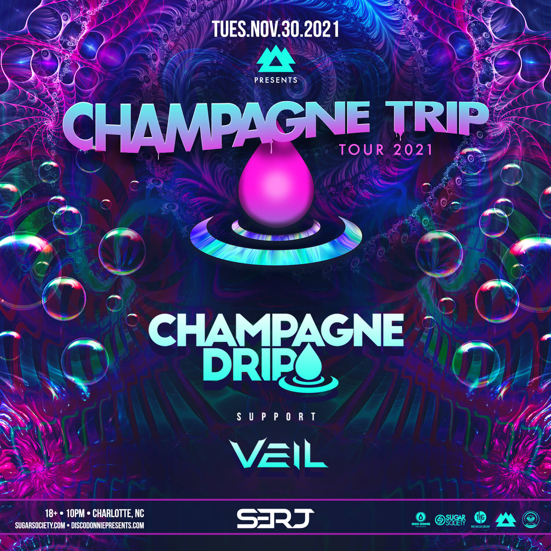 Champagne Drip in Charlotte