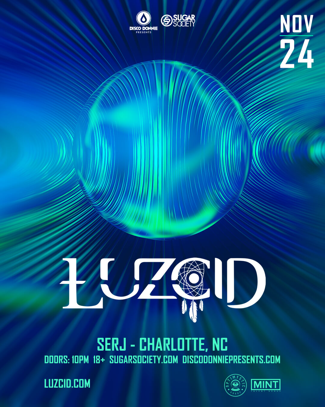LUZCID in Charlotte
