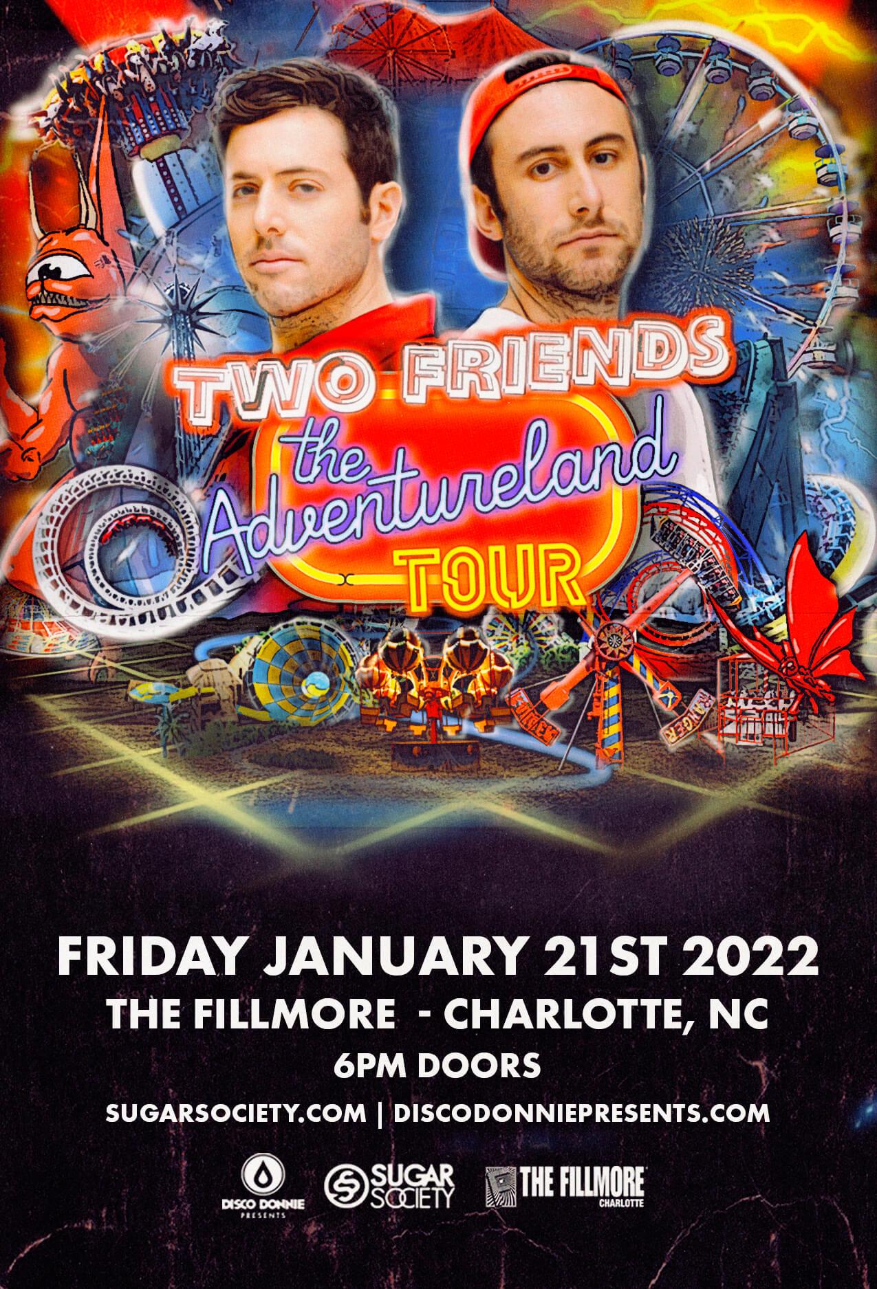 Two Friends in Charlotte